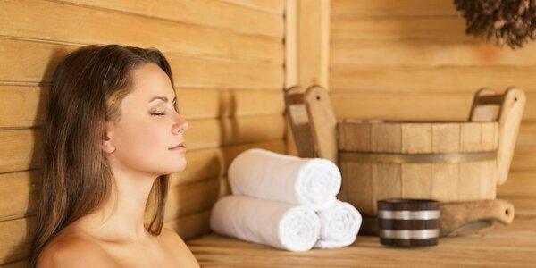 Relax v privátní sauně: vstupy pro 1 i pro 2