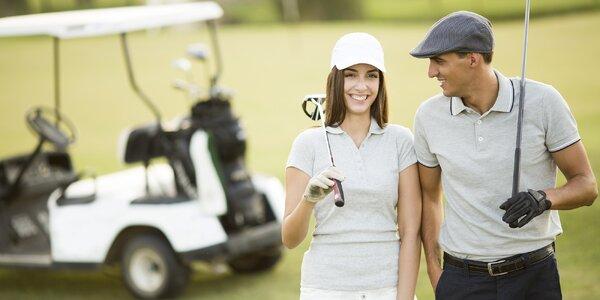 3 dny s polopenzí a golfem pro rodiny i profíky