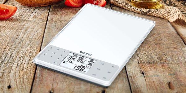Kuchyňská váha s analýzou nutričních hodnot