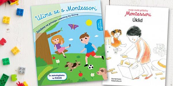 Knihy na principu Montessori pro rozvoj dětí