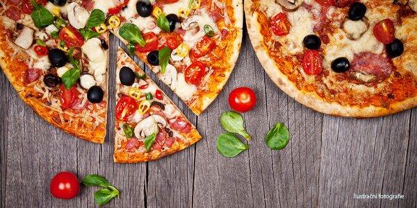 2 pizzy podle výběru na Karlově náměstí