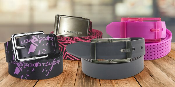 Pánské i dámské pásky v mnoha barvách a vzorech