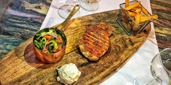 3chodové řecké menu podle výběru pro 2 osoby