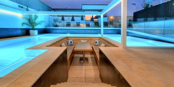 Luxusní apartmány s nádherným wellness na Moravě
