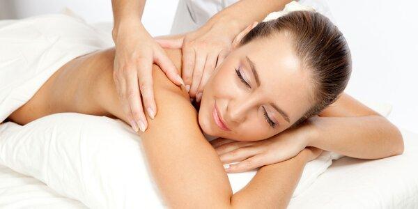 90minutová masáž celého těla, výběr ze 4 druhů
