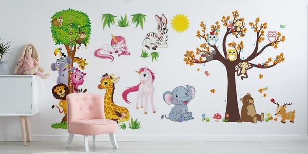 Rozveselte pokojíček: Dětské samolepky na zdi
