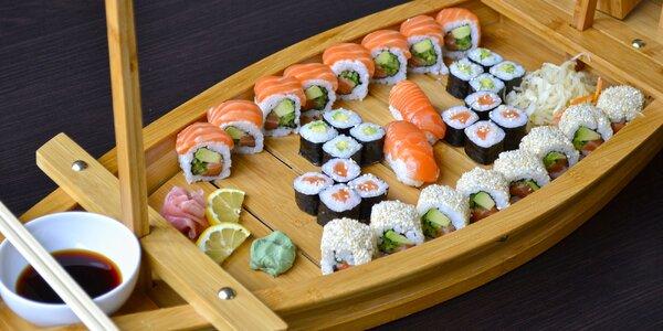 Sushi sety u Mr. Woka: vege, ale i ryby a závitky