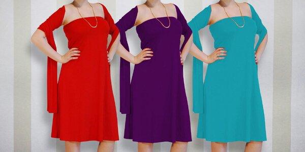 10x jiná: originální šaty Chameleon v 6 barvách
