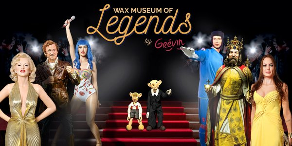 Zbrusu nové Wax museum of Legends by Grévin