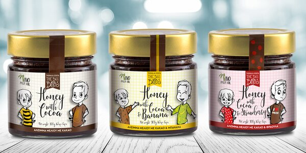 Medové pomazánky s kakaem bez cukru i lepku
