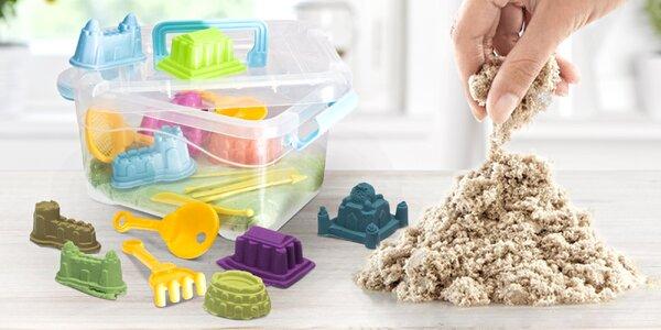 Barevný magický písek i sada s formičkami