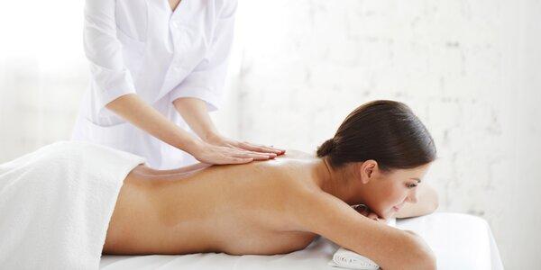 Manuální lymfatická masáž vybrané části těla