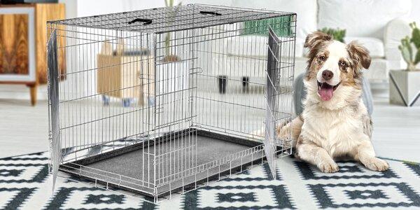 Transportní klec s dvířky pro psy velkých plemen