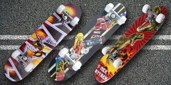 Skateboard pro děti a začínající jezdce