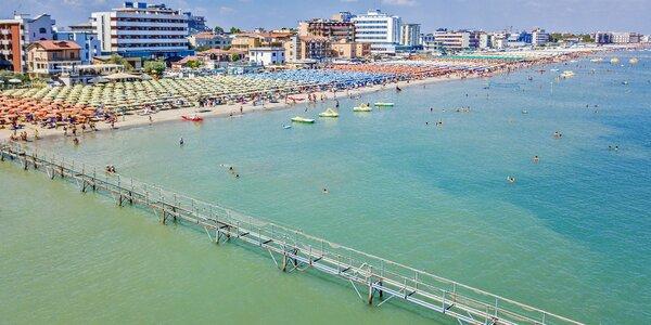 Dovolená v Itálii: 7 nocí s polopenzí blízko pláže