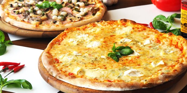 Jedna nebo dvě pizzy: výběr z 11 druhů