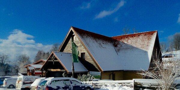 Chata přímo pod sjezdovkou v Orlických horách