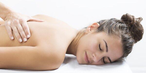 90 minut relaxace: balíček s masáží a zábalem