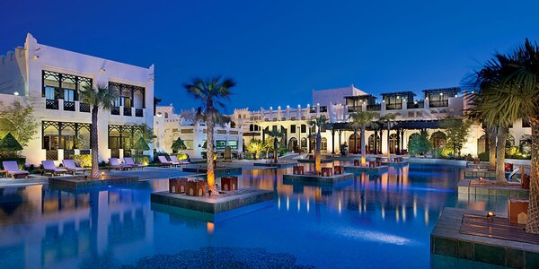 5* Sharq Village & Spa s polopenzí