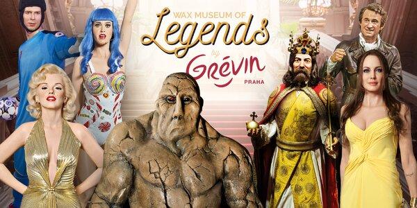Zbrusu nové Wax museum of Legends by Grévin