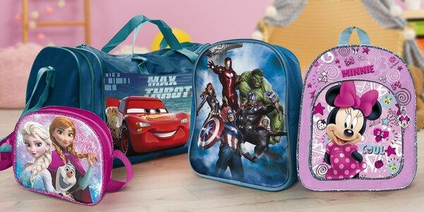 Dětské batůžky, tašky přes rameno i peněženky