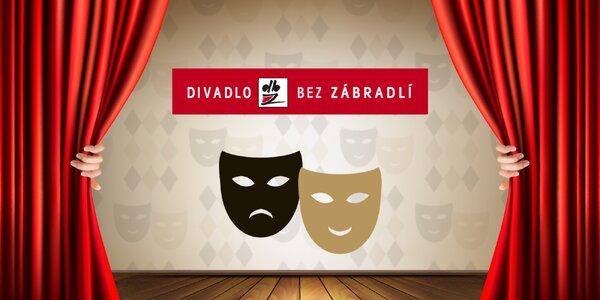 25% sleva na 2 lístky do Divadla Bez zábradlí