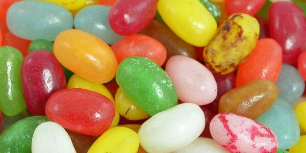 0,5–1 kg šťavnatých žvýkacích bonbónů Jelly Beans