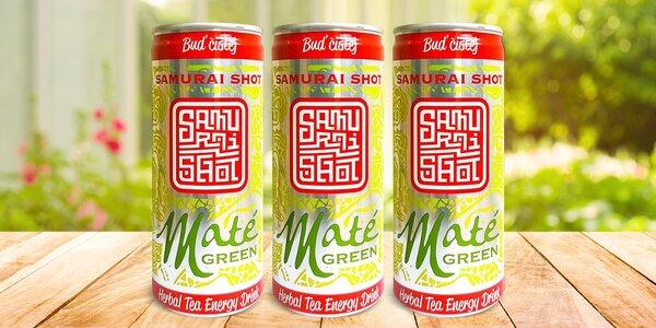 Přírodní energetický nápoj Maté Green v plechovce