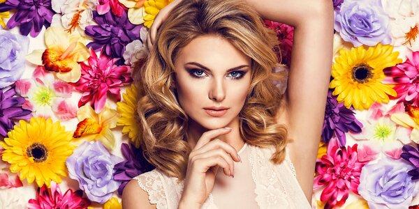 Kosmetika s masáží a líčením i nový melír a střih