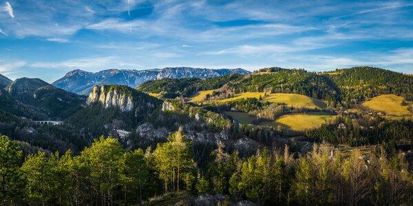 Kouzelná hora Semmering a poutní místo Mariazell