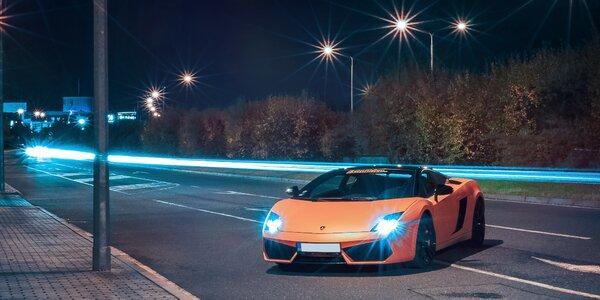 Superjízda v nadupaném Lamborghini Gallardo