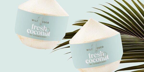 Thajské mladé kokosy: 5 nebo 9 ks