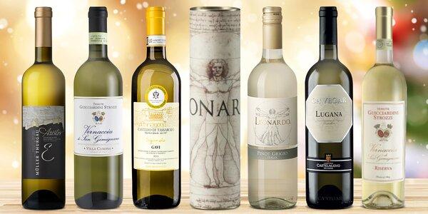 Suchá bílá vína z Itálie: Pinot Grigio i Müller
