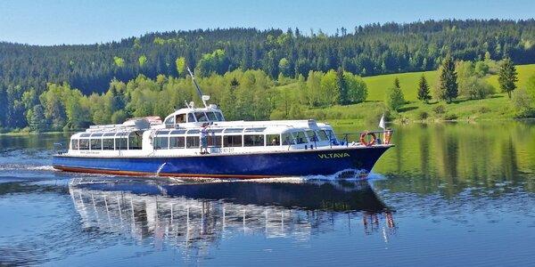 Denní nebo večerní okružní plavba po Lipně
