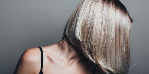 Dámské střih nebo melír pro všechny délky vlasů