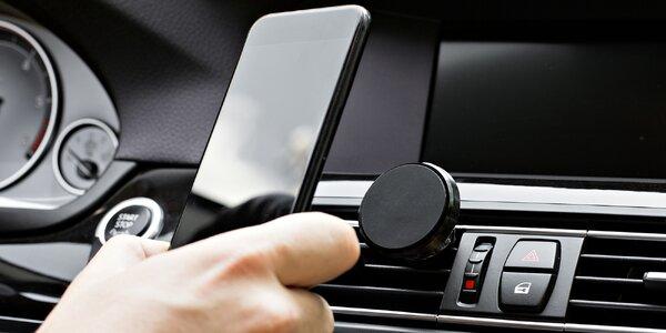 Magnetický držák na telefon do mřížky automobilu