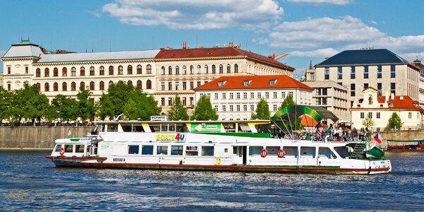 Velikonoční plavba po Vltavě a 4chodové menu