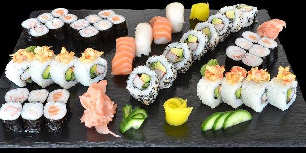 Sushi sety v centru Mělníka: 24 nebo 44 ks