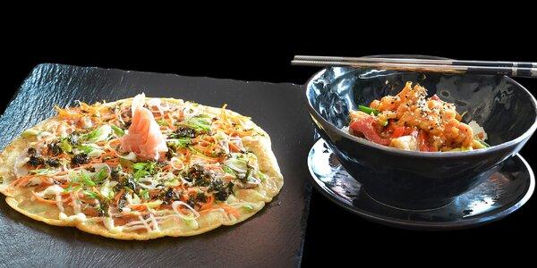 Japonské menu: tradiční omeleta i teriyaki omáčka