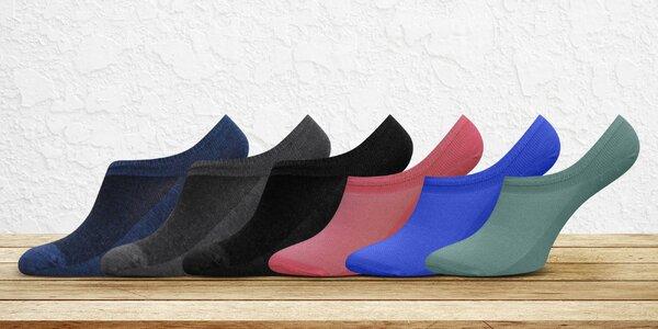 Dámské a pánské nízké ponožky s prodyšným nártem