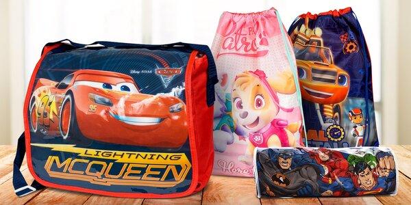 Dětské tašky, batůžky a penály: Frozen i Avengers