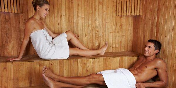 120 minut v sauně pro 1 nebo pro 2 osoby
