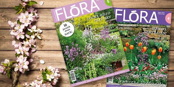 Kompletní ročník časopisu Flóra na zahradě 2018