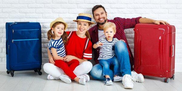 Rodinná dovolená. Zn.: Děti zdarma