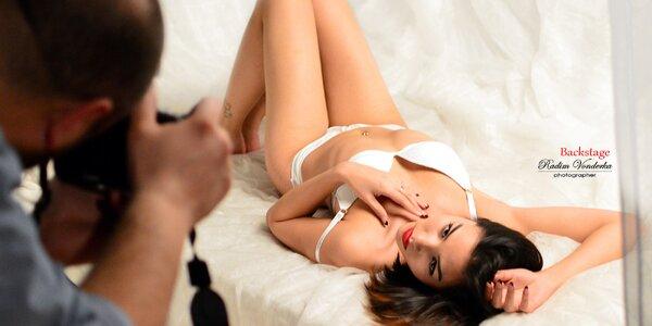 5hodinový fotokurz na téma glamour a boudoir