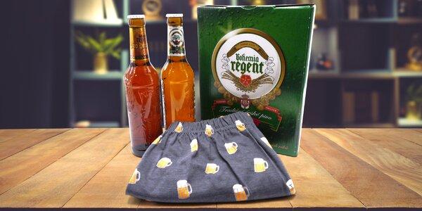 Sety piva Bohemia Regent s ponožkami i trenýrkami
