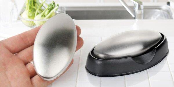 Praktické nerezové mýdlo pro neutralizaci pachů