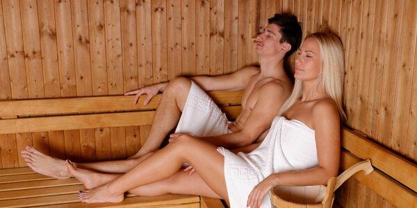 Hodinový pronájem soukromé sauny až pro 4 osoby