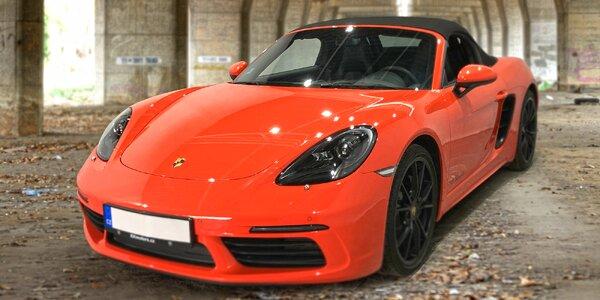 20–60 min. řízení nadupaného Porsche 718 Cabrio