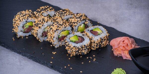 Obědové sushi menu včetně dopravy po Praze